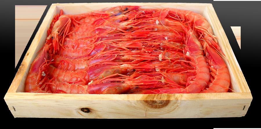Alistados en caja de madera artesana