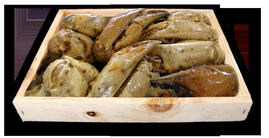 Bocas en caja de madera